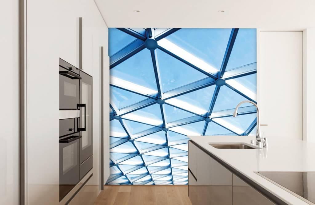 Bâtiments - Plafond en verre - Hall d'entrée 4