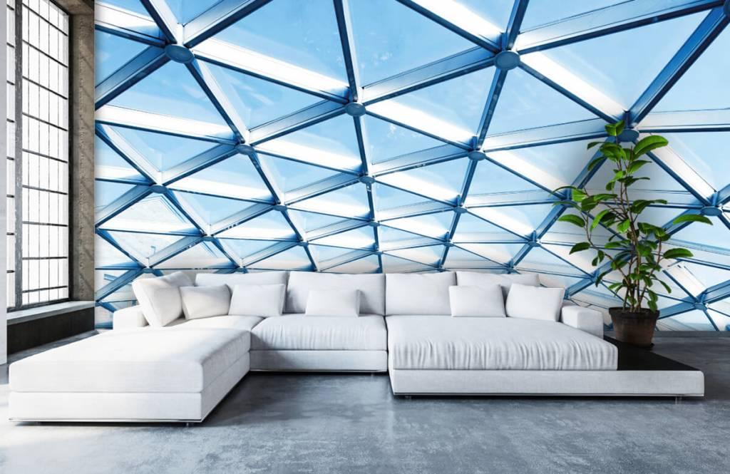 Bâtiments - Plafond en verre - Hall d'entrée 5