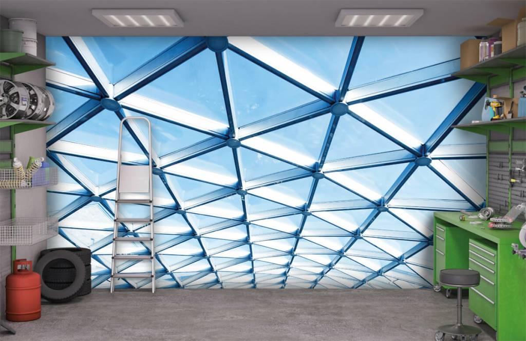 Bâtiments - Plafond en verre - Hall d'entrée 9