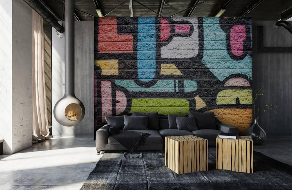Graffiti - Mur de graffiti - Chambre d'adolescent 1