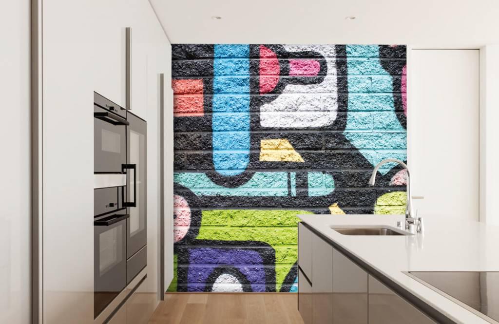 Graffiti - Mur de graffiti - Chambre d'adolescent 4