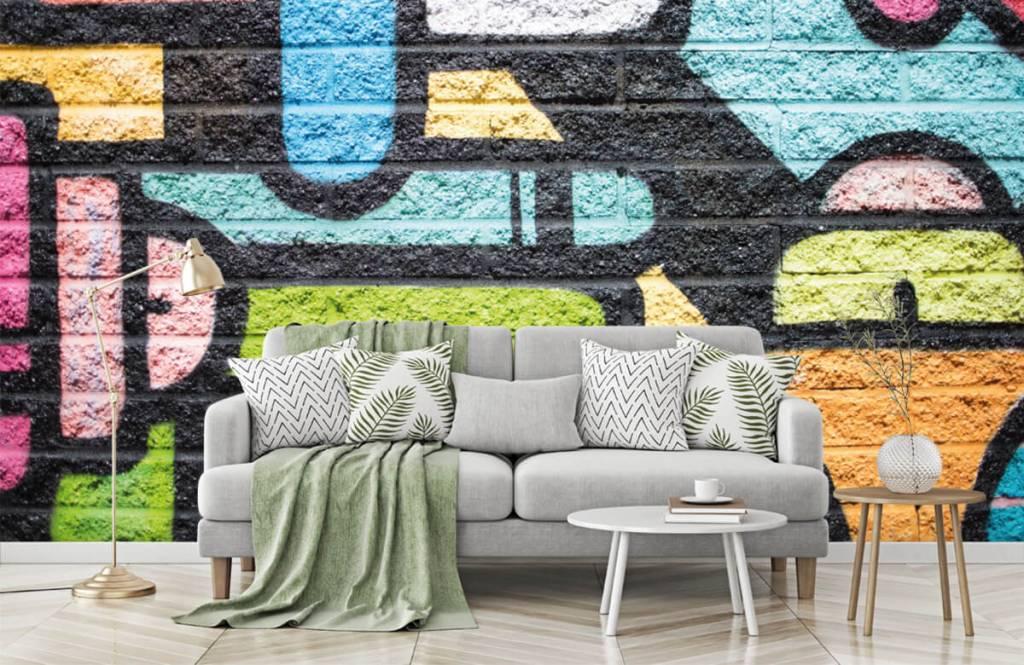 Graffiti - Mur de graffiti - Chambre d'adolescent 7