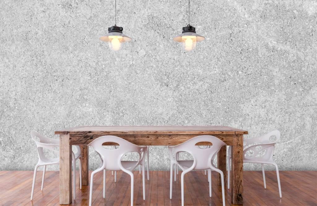 Papier peint aspect béton - Structure en béton gris - Cuisine 5