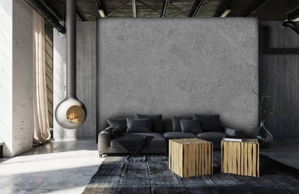 Papier peint aspect béton - Structure en béton gris - Cuisine 8