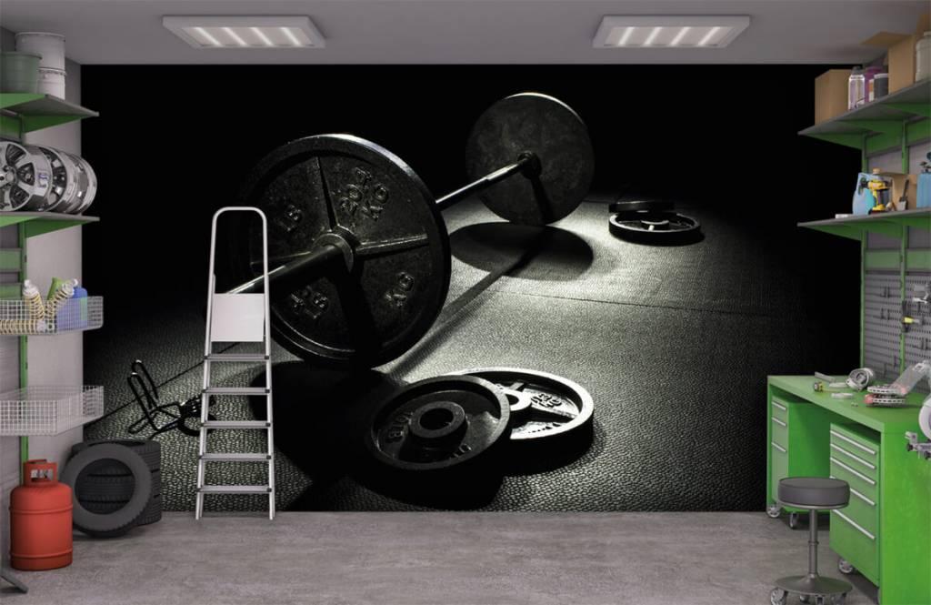 Fitness - Poids haltère - Salle de Loisirs 4