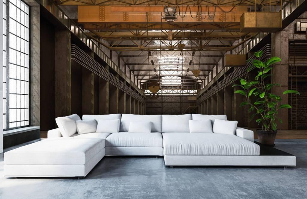 Bâtiments - Hall industriel abandonné - Entrepôt 1