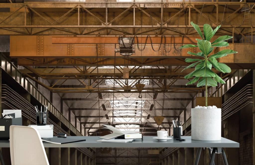 Bâtiments - Hall industriel abandonné - Entrepôt 2