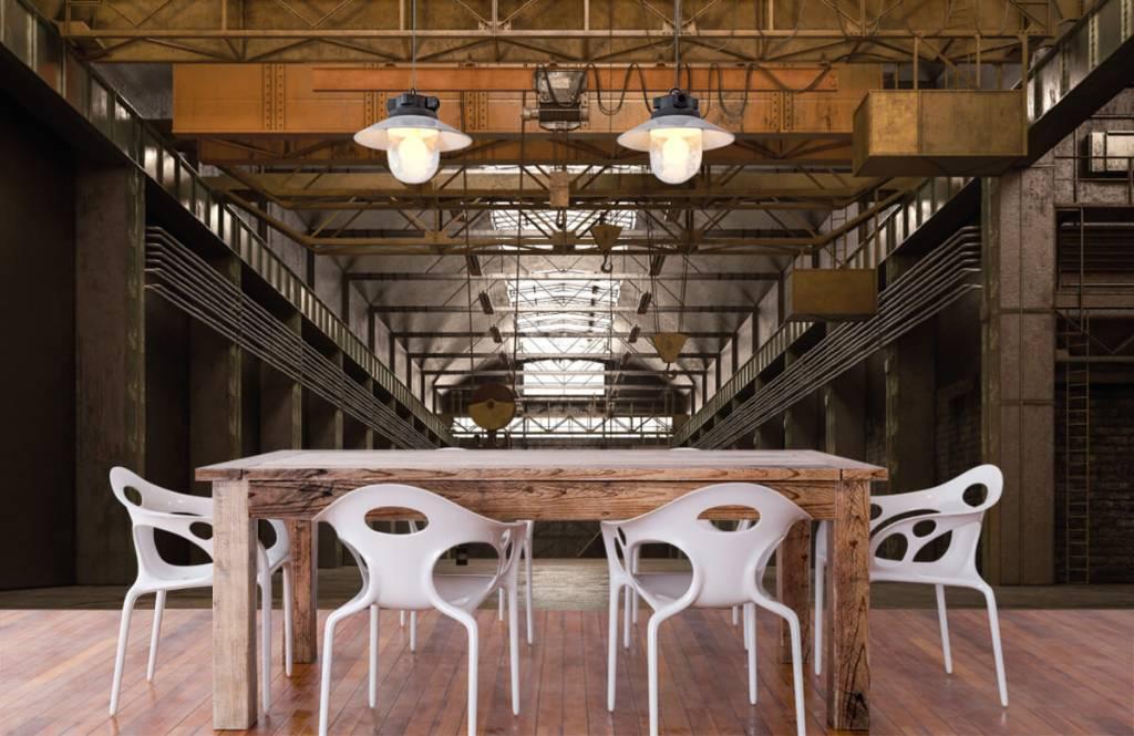 Bâtiments - Hall industriel abandonné - Entrepôt 6