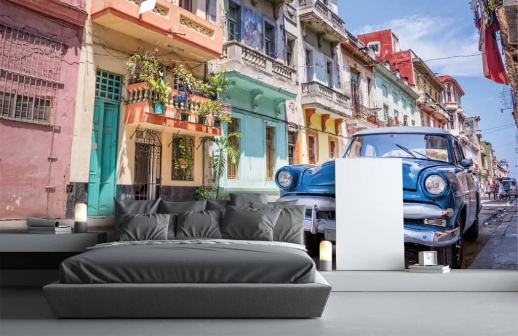 Transport - Voiture classique à cuba - Chambre à coucher 3