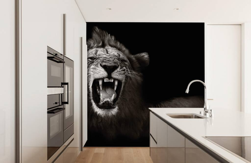 Animaux sauvages - Lionne - Chambre d'adolescent 4
