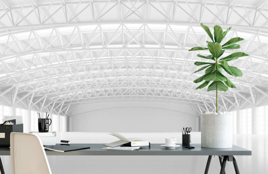 Bâtiments - Entrepôt blanc vide - Gestion 1