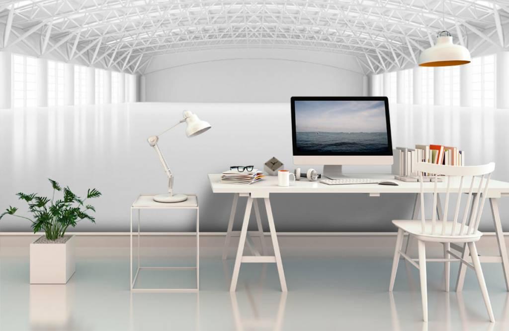 Bâtiments - Entrepôt blanc vide - Gestion 2
