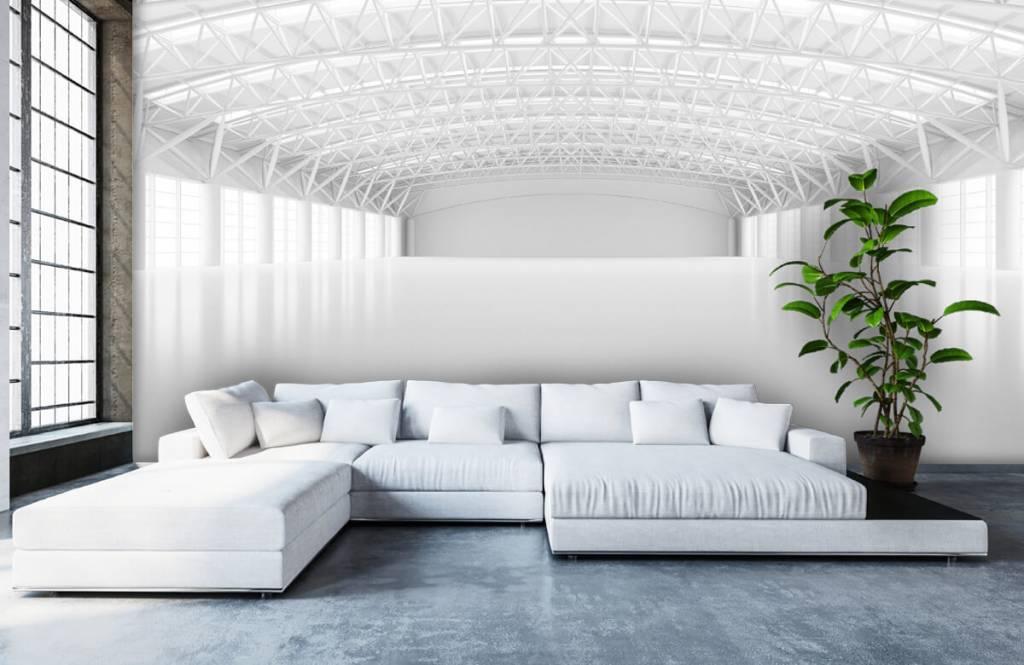 Bâtiments - Entrepôt blanc vide - Gestion 5