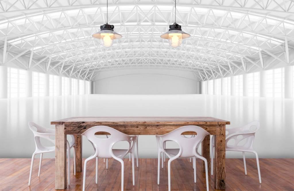 Bâtiments - Entrepôt blanc vide - Gestion 6