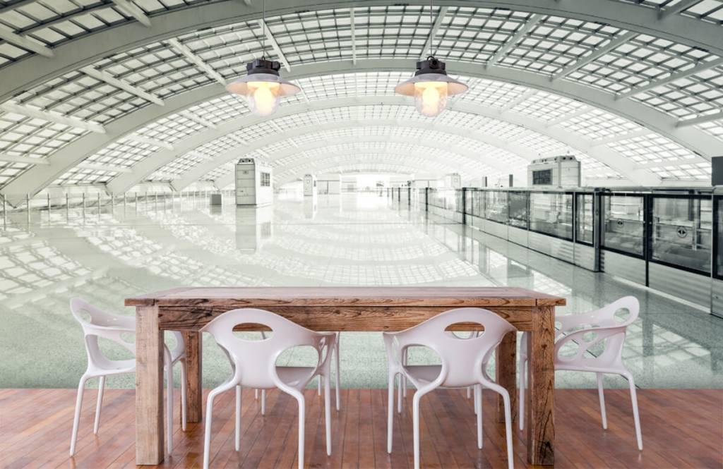 Bâtiments - Hall d'entrée moderne arrondi - Hall d'entrée 6