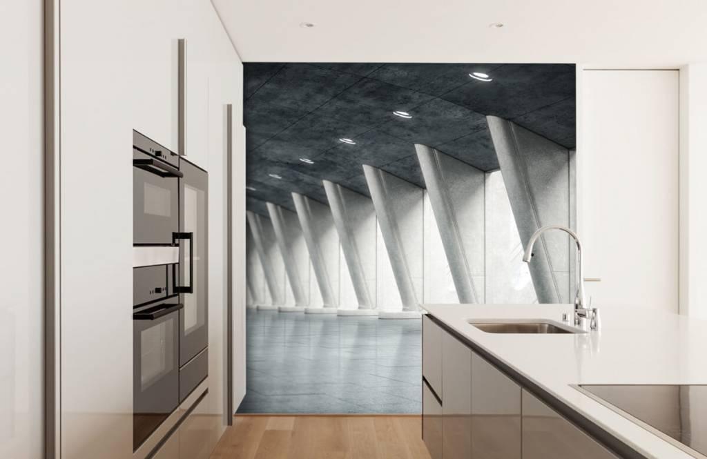 Bâtiments - Salle moderne - Bureau 4