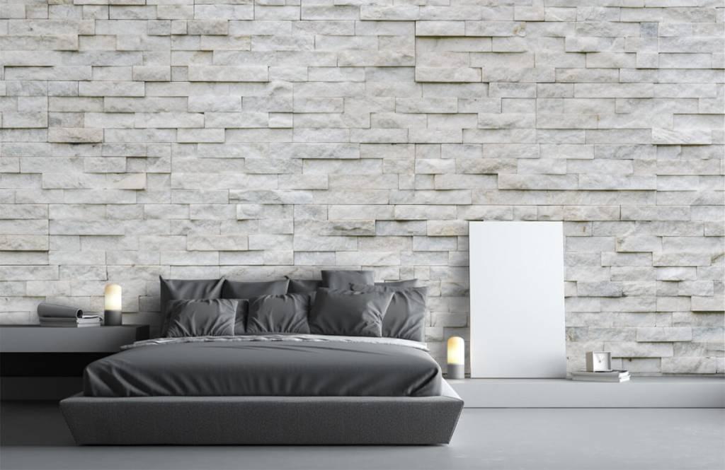 Papier peint en pierre - Mur en pierre moderne - Cafétéria 3