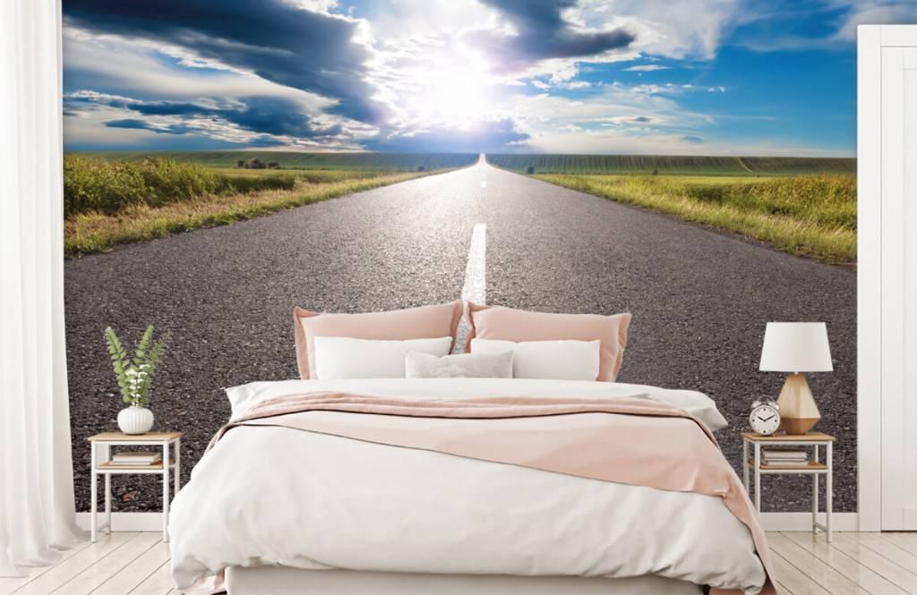 Routes et Rues - Route infinie - Chambre à coucher 2