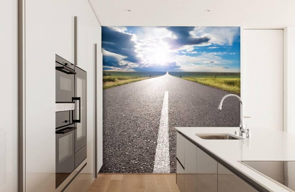 Routes et Rues - Route infinie - Chambre à coucher 3
