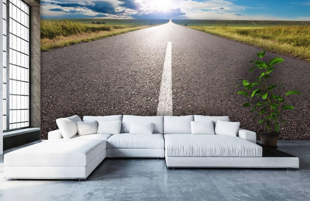 Routes et Rues - Route infinie - Chambre à coucher 5
