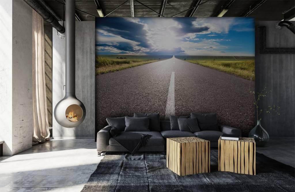 Routes et Rues - Route infinie - Chambre à coucher 6