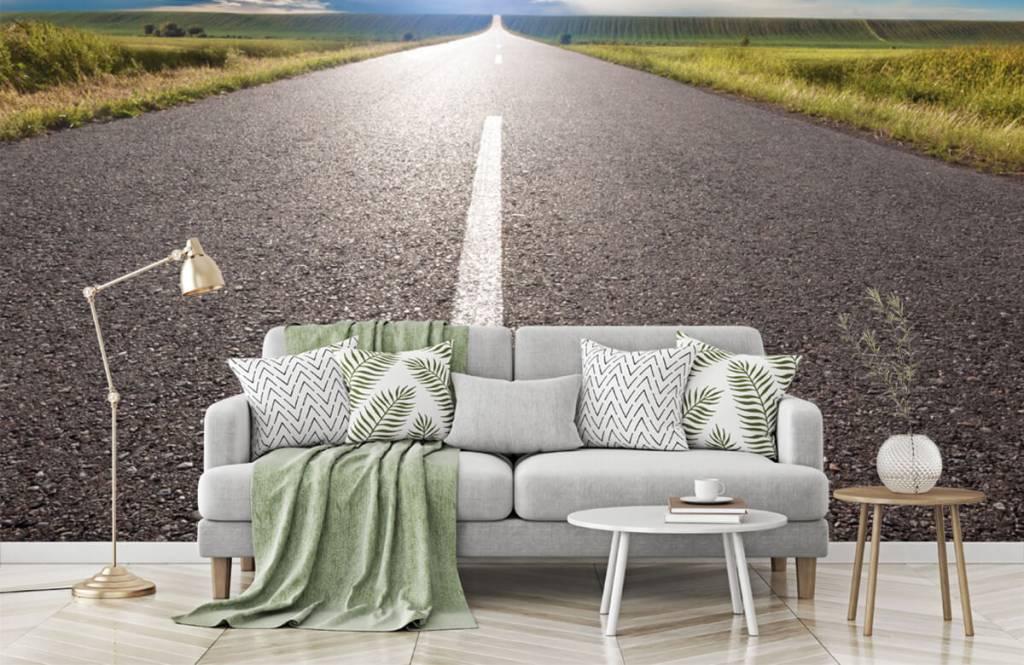 Routes et Rues - Route infinie - Chambre à coucher 7
