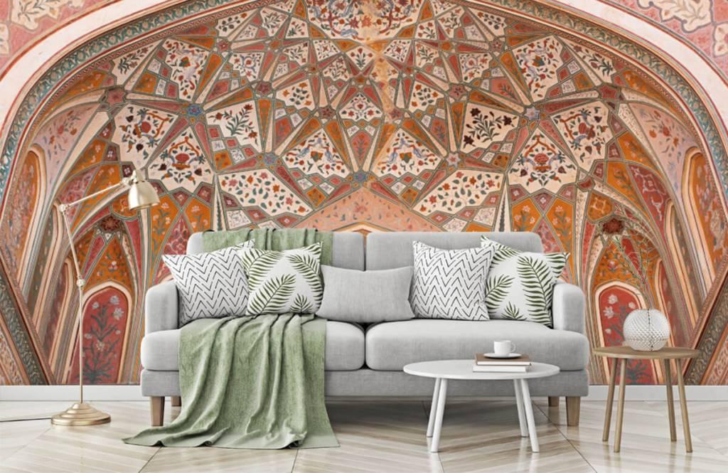 Monuments - Arche indienne richement peinte - Chambre à coucher 7