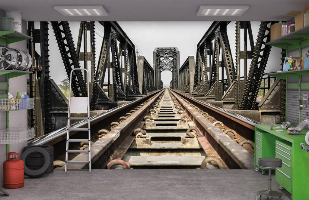 Éléments - Pont ferroviaire métallique - Entrepôt 1