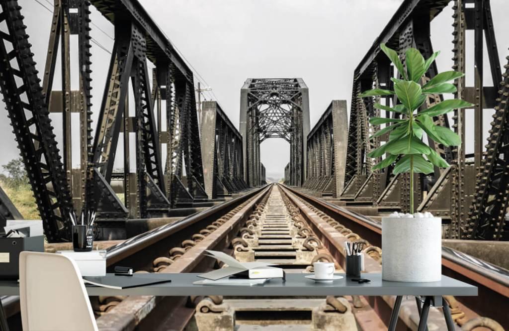 Éléments - Pont ferroviaire métallique - Entrepôt 2