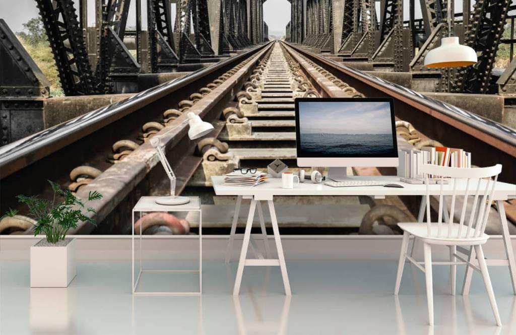 Éléments - Pont ferroviaire métallique - Entrepôt 3