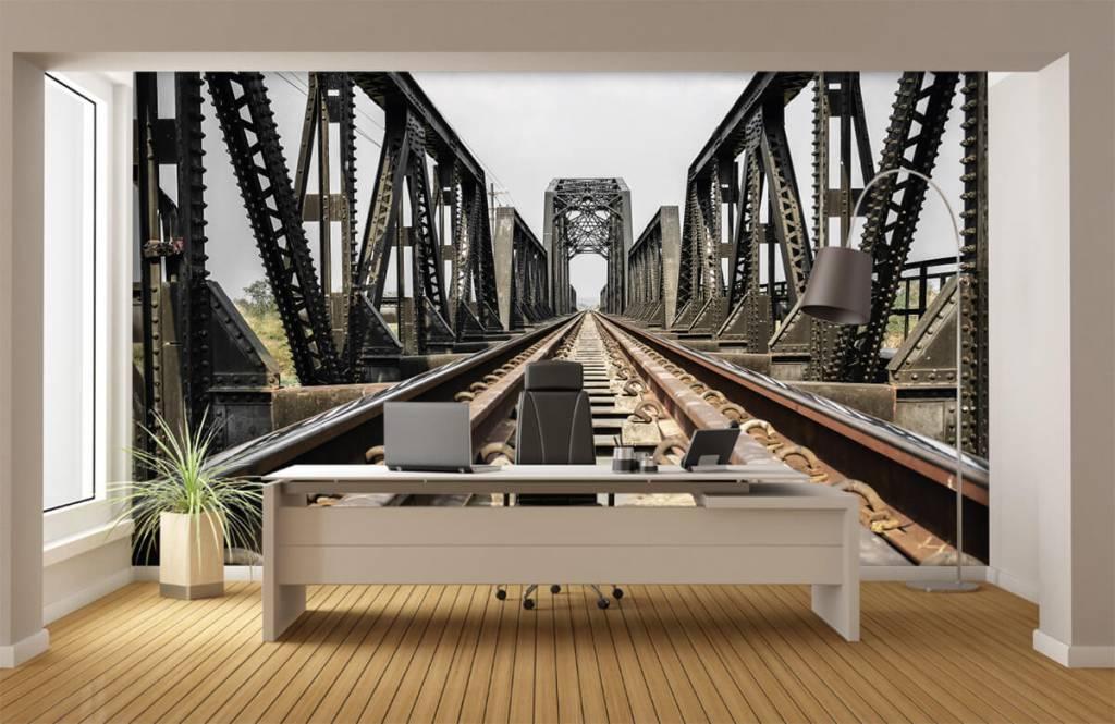Éléments - Pont ferroviaire métallique - Entrepôt 4