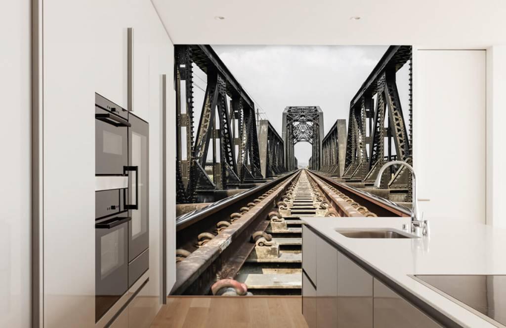 Éléments - Pont ferroviaire métallique - Entrepôt 5