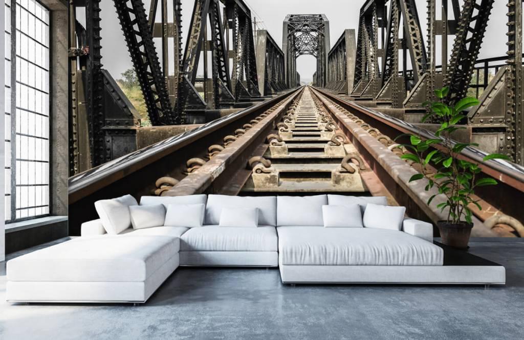 Éléments - Pont ferroviaire métallique - Entrepôt 6