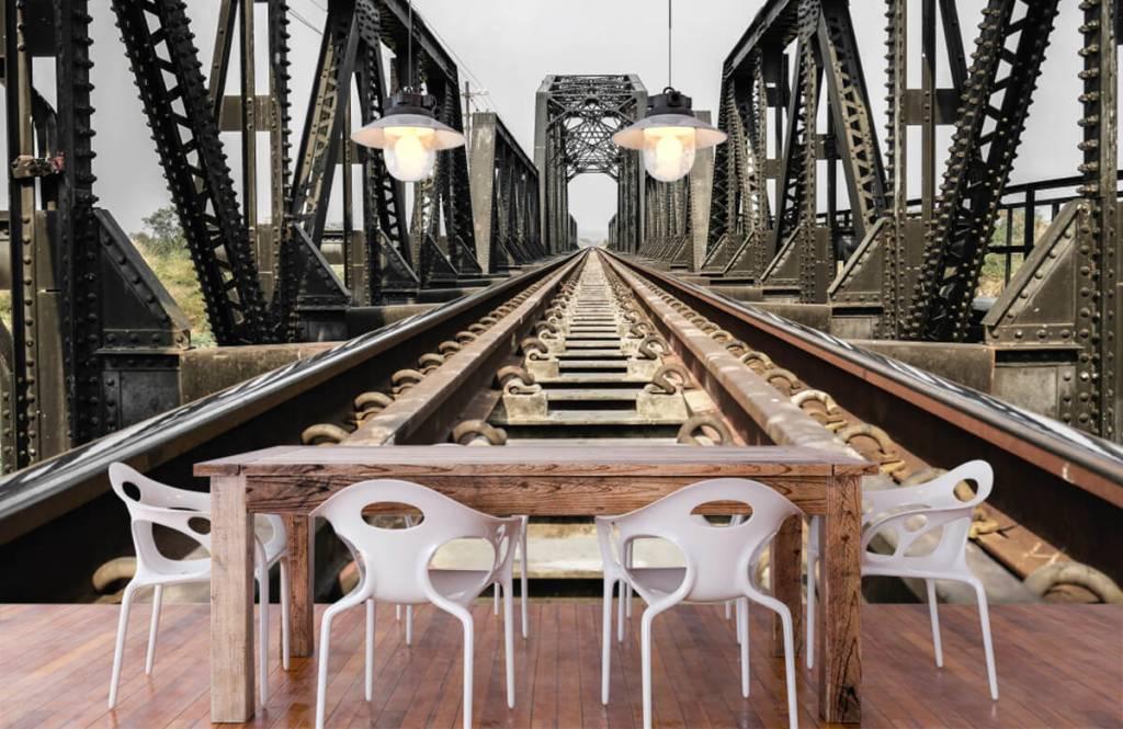 Éléments - Pont ferroviaire métallique - Entrepôt 7