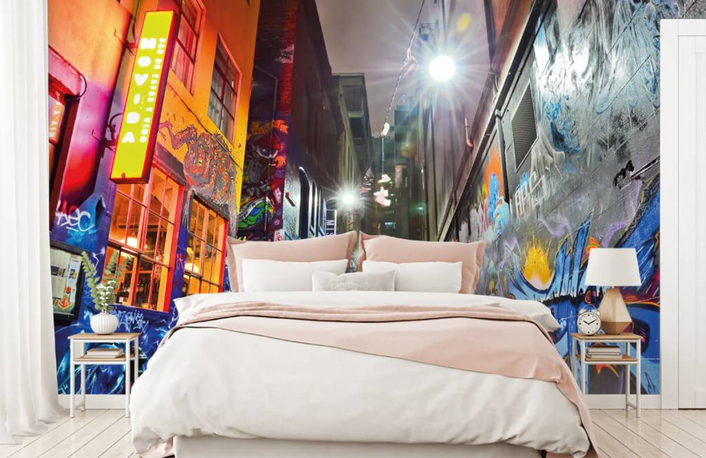 Graffiti - Rue avec graffiti - Chambre d'adolescent 2