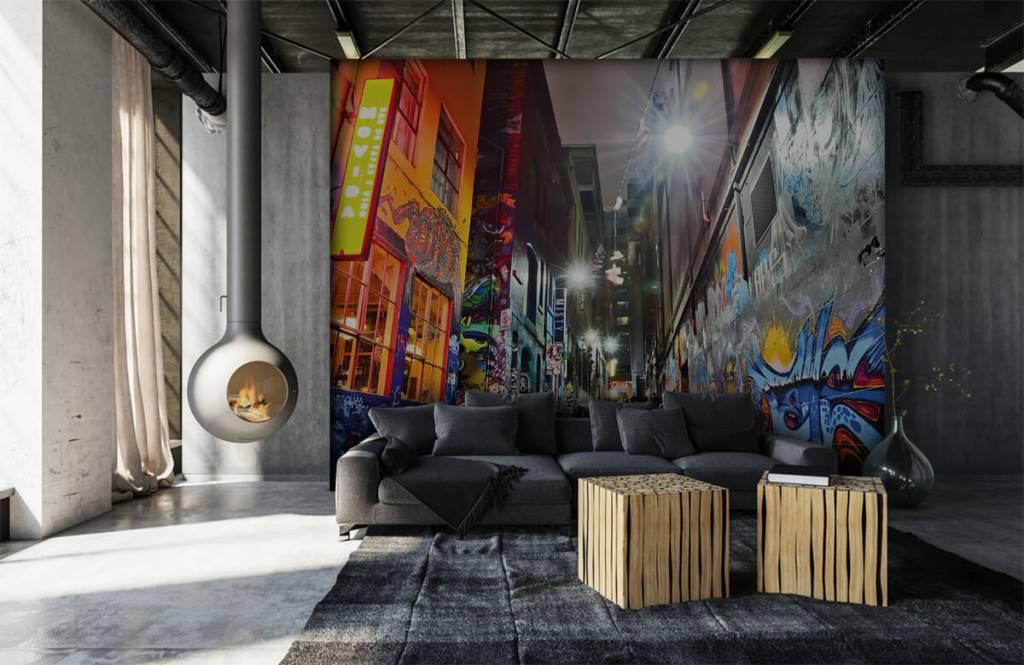 Graffiti - Rue avec graffiti - Chambre d'adolescent 6
