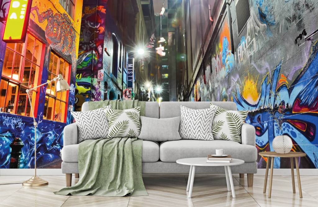 Graffiti - Rue avec graffiti - Chambre d'adolescent 7