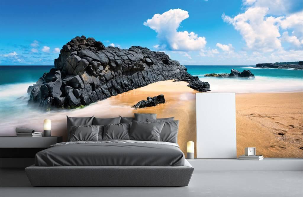 Papier peint de la plage - Plage à Hawaii - Salle de séjour 1