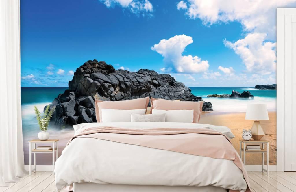 Papier peint de la plage - Plage à Hawaii - Salle de séjour 2