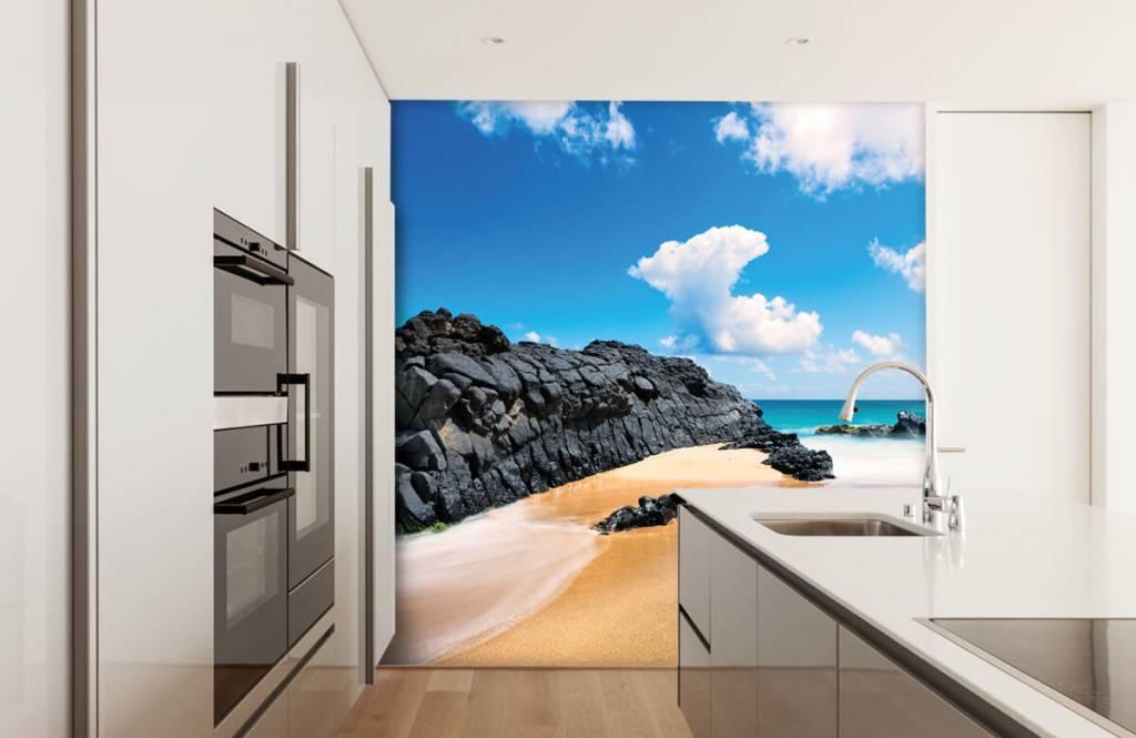 Papier peint de la plage - Plage à Hawaii - Salle de séjour 3