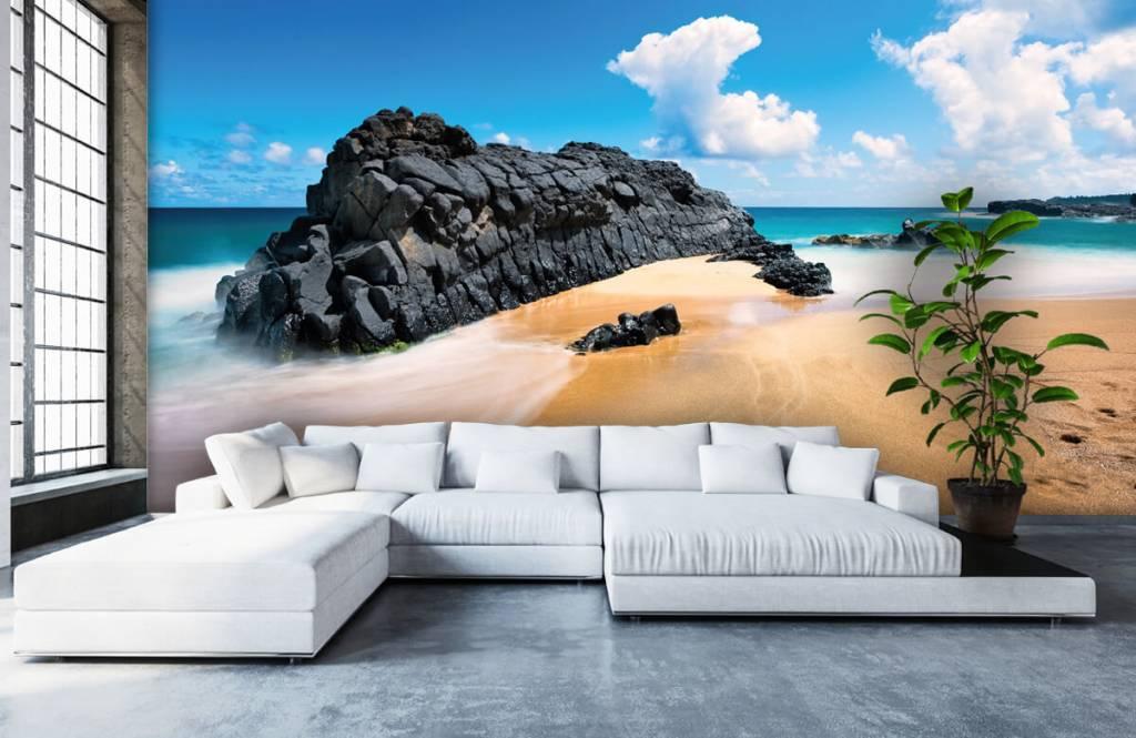 Papier peint de la plage - Plage à Hawaii - Salle de séjour 5