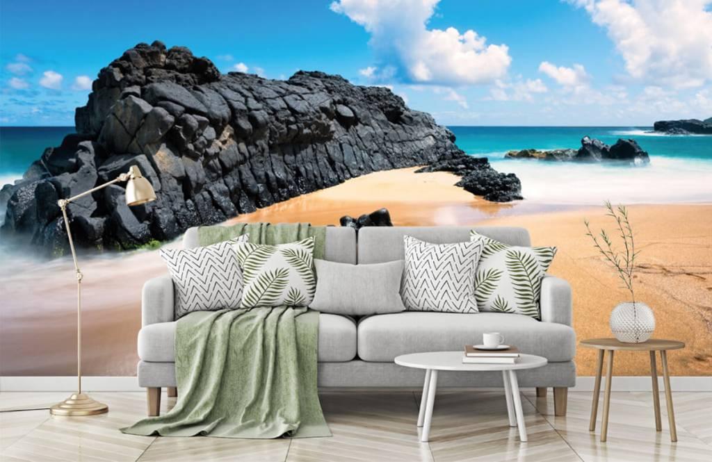 Papier peint de la plage - Plage à Hawaii - Salle de séjour 7
