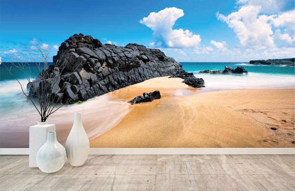 Papier peint de la plage - Plage à Hawaii - Salle de séjour 8