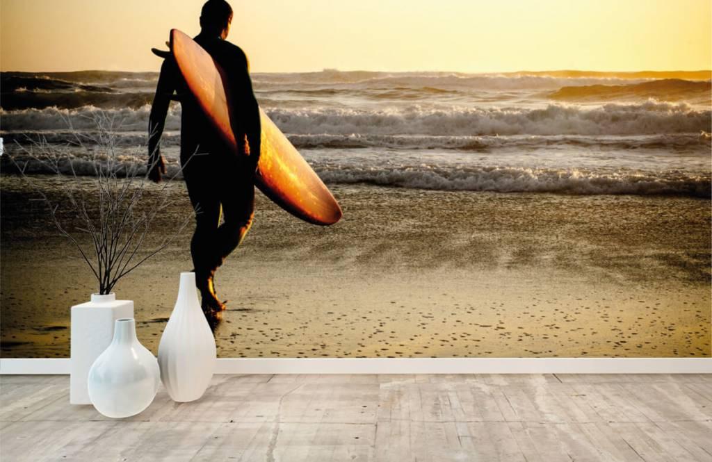 Papier peint de la plage - Surfeur - Chambre d'adolescent 2
