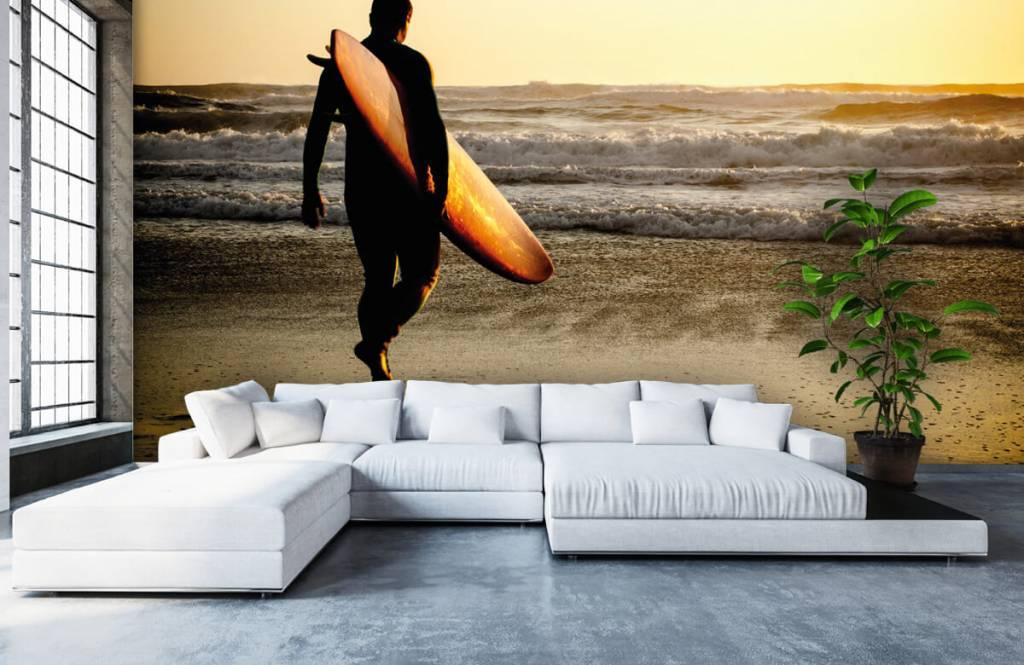 Papier peint de la plage - Surfeur - Chambre d'adolescent 6