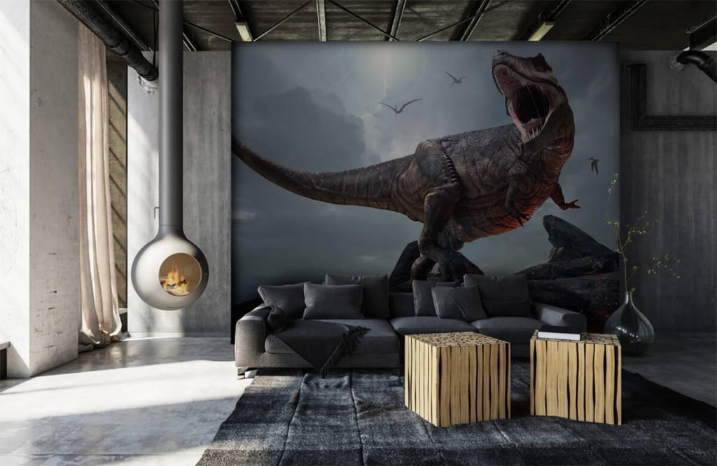 Dinosaures - Tyrannosaure Rex - Chambre d'enfants 1