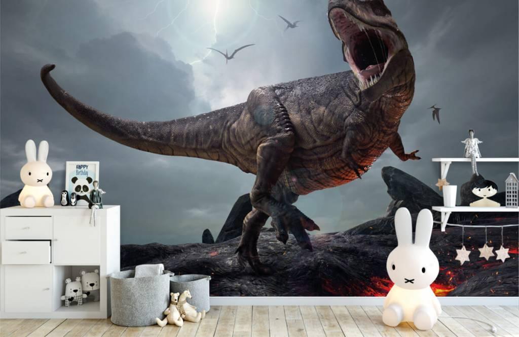 Dinosaures - Tyrannosaure Rex - Chambre d'enfants 2