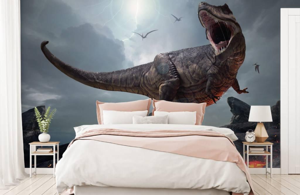 Dinosaures - Tyrannosaure Rex - Chambre d'enfants 3