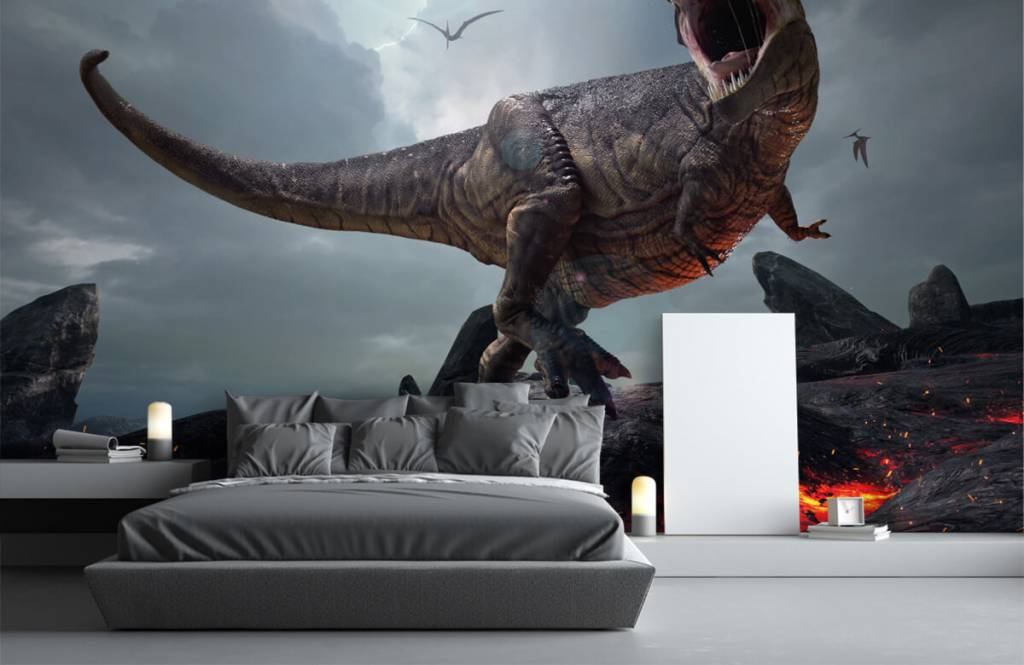 Dinosaures - Tyrannosaure Rex - Chambre d'enfants 4