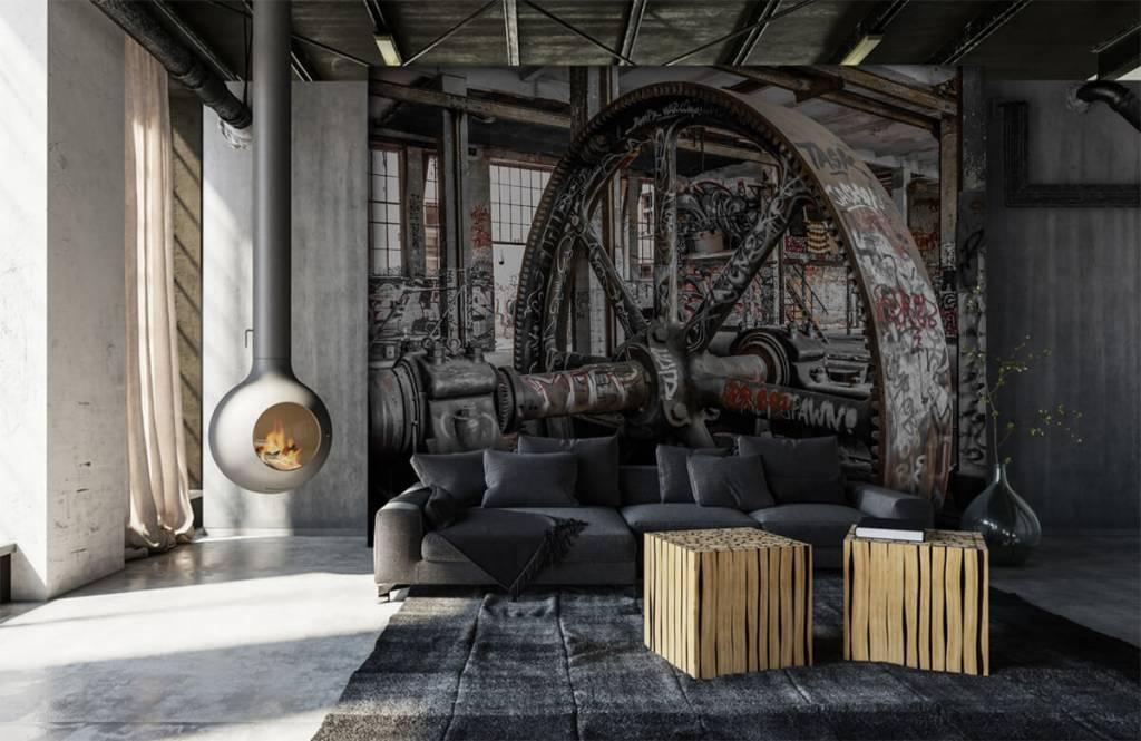 Architecture - Usine abandonnée - Chambre d'adolescent 7